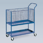 Order Picking Trolley - Basket Top Shelf